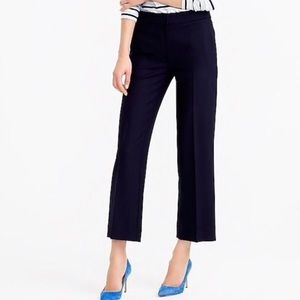 🆕 J. Crew Petite Patio Pant in Super 120s Wool
